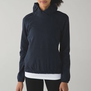 Lululemon Athletica After All Pullover Navy Blue